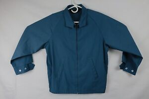 Vintage-Oakbrook-Sportswear-Sears-Rockabilly-Jackey-Size-36-Blue
