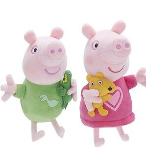 Peppa-Pig-Talking-Plush-Baby-Bedtime-George-or-Bedtime-Peppa-NEW