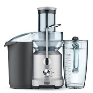 Sage-Entsafter-The-Nutri-Juicer-Cold-Mixer-extra-grosser-Einfuellschacht-Edelstahl