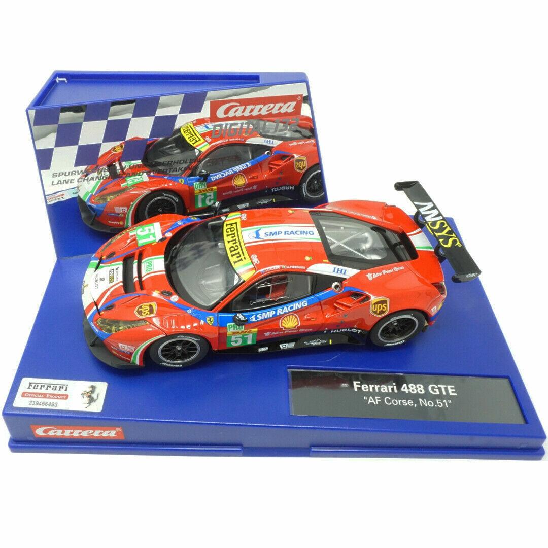 "Carrera Digital 132 Ferrari 488 GTE /""AF Corse No.51/"""