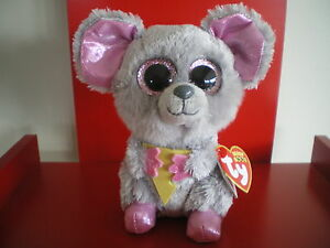 Ty Beanie Boos SQUEAKER the mouse 6 inch NWMT.JUST ARRIVED ... de41db71ccce
