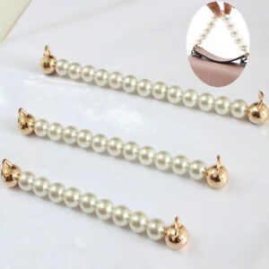 15-18-21cm-Imitate-Pearl-Beaded-Short-Bag-Strap-Short-Purse-Handle-Bag-Chain-New