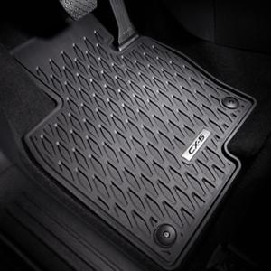 Mazda original Cx-5 KF Allwetter-Mattensatz Gummi Fußmatten Logo Geschenk idee