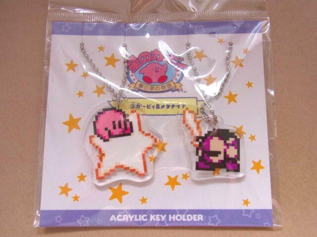 Hoshi no Kirby * Kirby & Meta Knight Acrylic Pair Keychain Set * Nintendo Japan