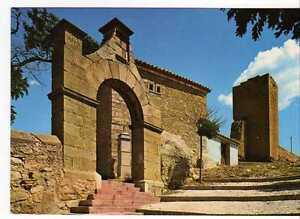 Postal Mora de Rubielos (Teruel) Subida Dolorosa y Torreón.