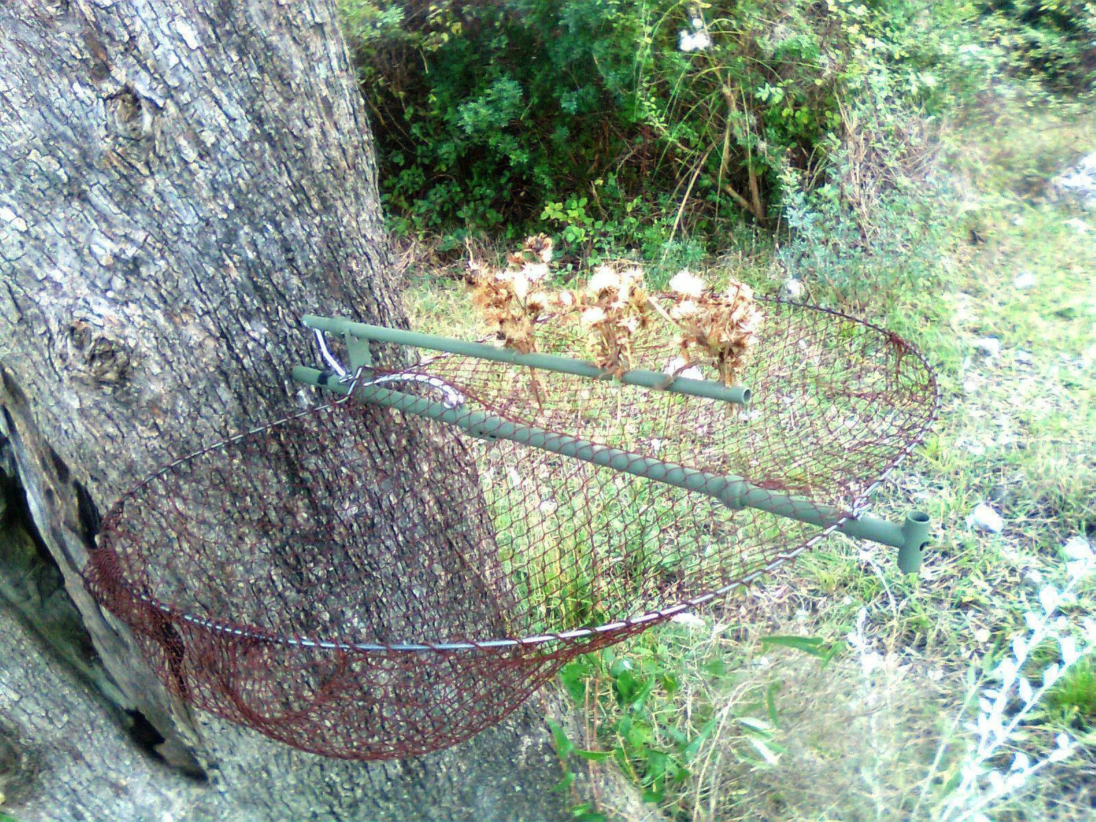Net Live Maxi Bird Trap 45 cm Trappola Uccelli Piege Oiseaux Trampa Pajaros Cage