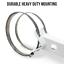 CCTV Security Camera Universal Pole Mount Bracket w// Adjustable end bracket
