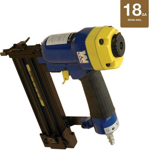 New Wen 3 4 in. to 2 in.18-Gauge Brad Nailer Corded Nail Gun Air Energy