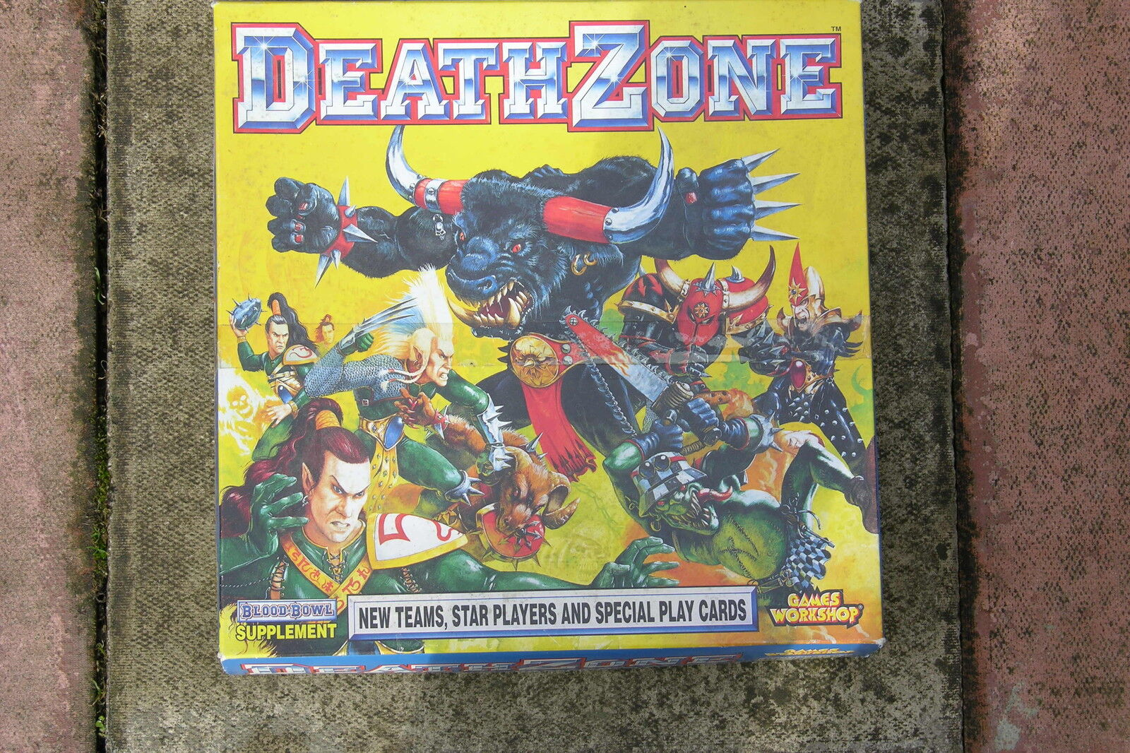 BLOOD BOWL DEATH ZONE BOXED SUPPLEMENT 1994
