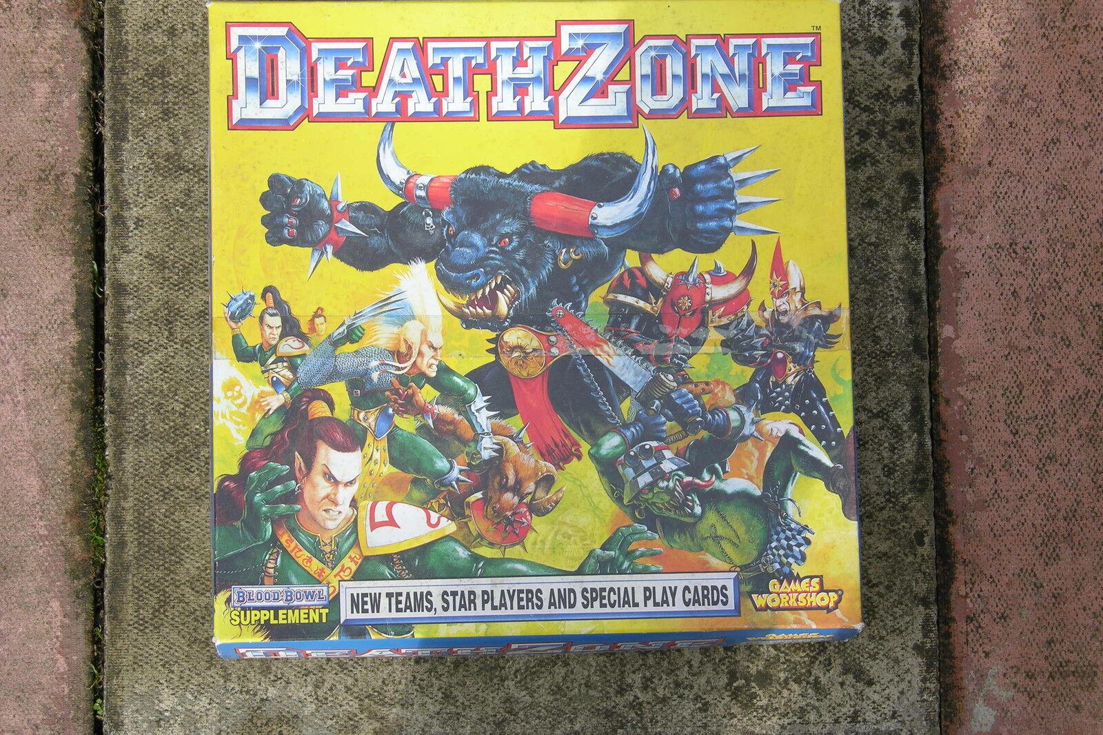 Blood Bowl Muerte Zona Suplemento 1994 Sin Caja