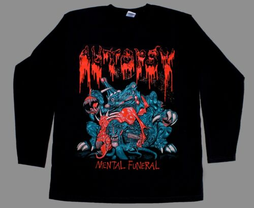 Mental Funeral Longsleeve Shirt Metal Death Metal RARE Slayer Venom AUTOPSY