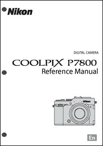 nikon coolpix s510 digital camera original users manualinstruction manual