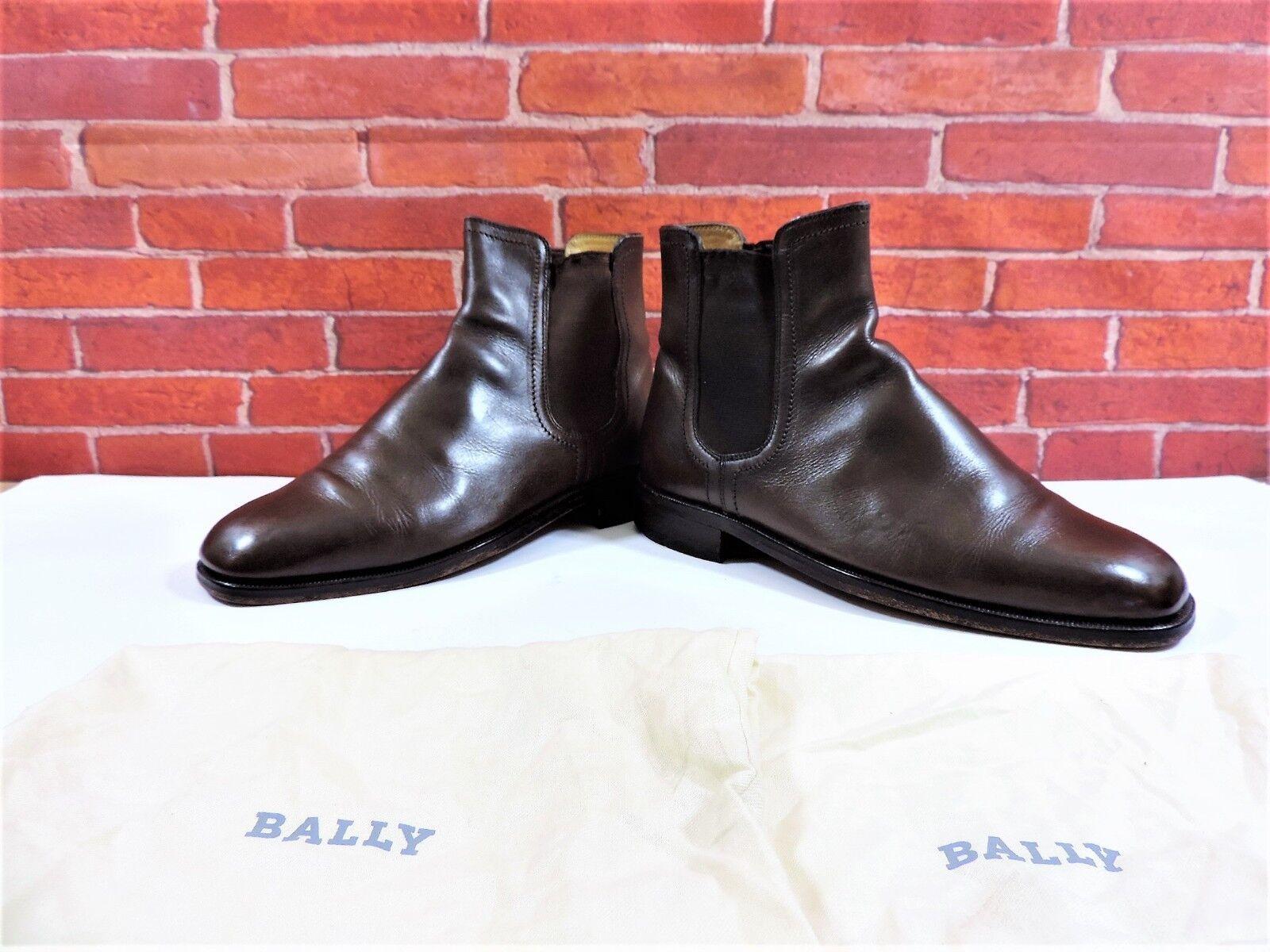 Miglior prezzo Bally Stivali Chukka Chelsea US US US 8.5 EU 41.5 indossato 3 4 volte Borsa Da Scarpa ITALIANO  risparmiare fino all'80%
