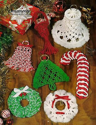 """Christmas Tree Ornaments Pendants Glittering Candy Canes 4 In A Pack 5.5/"""" Green"""