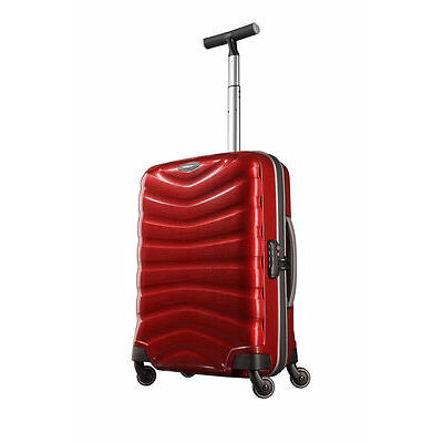 NEW Samsonite Firelite Spinner Suitcase Chili Red Small 55cm
