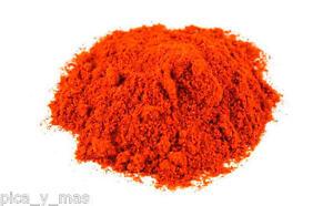 Habanero Savina Rojo En Polvo Envase De 10 Gr. Puro 100% Habanero Chili Powder