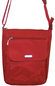 033c32674 Image is loading BAGGALLINI-Pocket-TOWN-Bagg-Crossbody-Shoulder-Organizer- Bag-