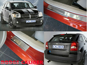 Stainless-Steel-Door-Sill-Entry-Guard-Covers-fit-Dodge-Caliber-2006-2011