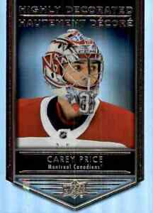 2019-20-Upper-Deck-Tim-Hortons-Hghly-Decorated-Carey-Price-HD3