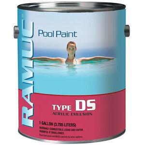 ramuc ds acrylic pool paint ebay