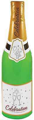 73cm INFLATABLE BLOW UP CHAMPAGNE BOTTLE - Wedding Party Decoration X99 036
