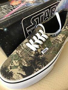 b9f3d820252659 Vans Authentic Star Wars Boba Fett Camo Authentic Size 9 Pre Disney ...