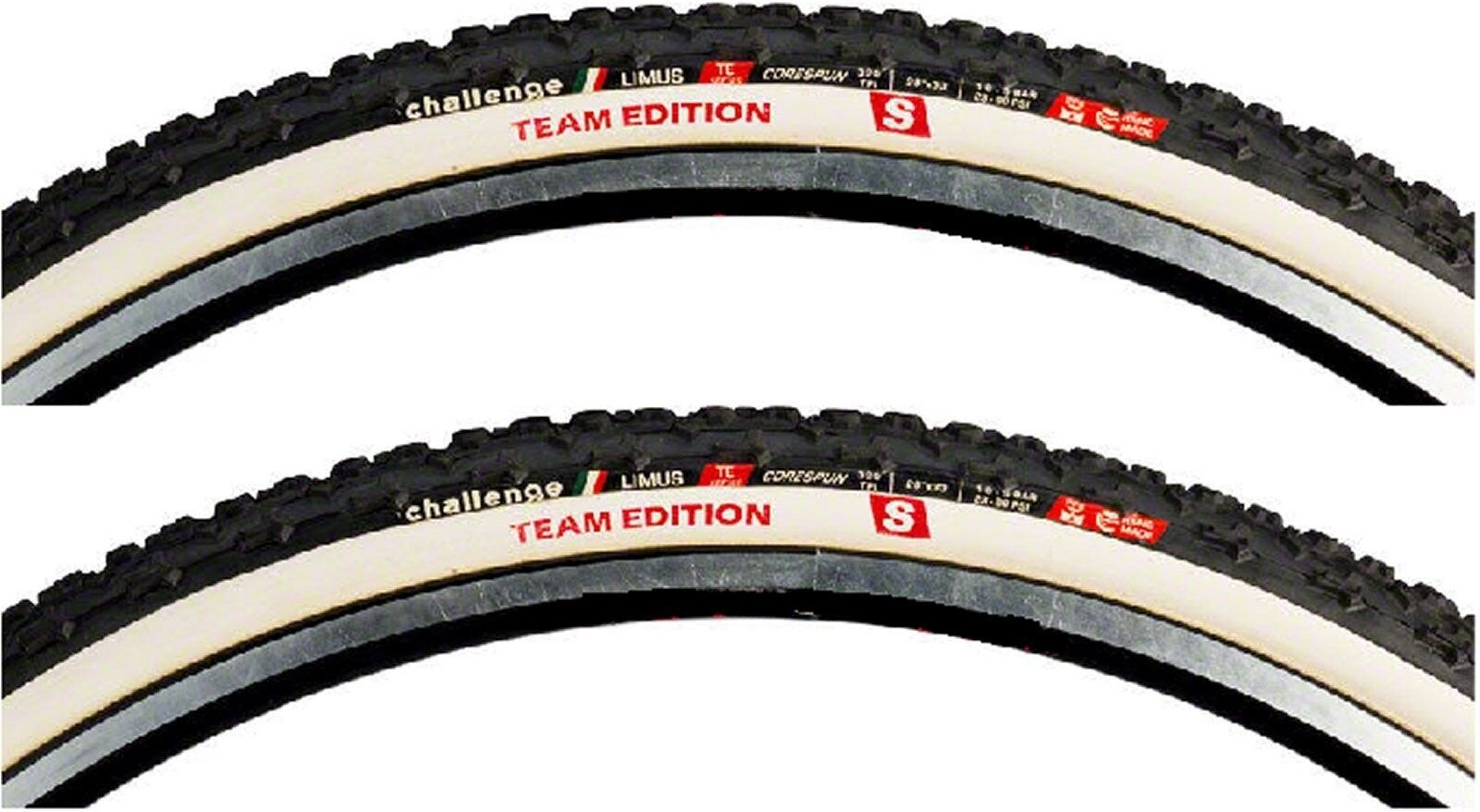 Challenge Limus S Team Edition cyclocross  tubular 700 x 33 (2 tires)  save 35% - 70% off