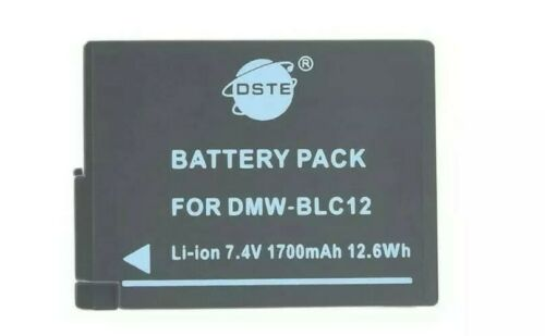 1Pc dste ® DMW-BLC12 Batería recargable para Panasonic Lumix DMC-G5 DMC-G6