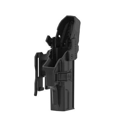 Drop Offset Holster Fit Sig Sauer SP2022 Paddle Carry Tactical Polymer Holder