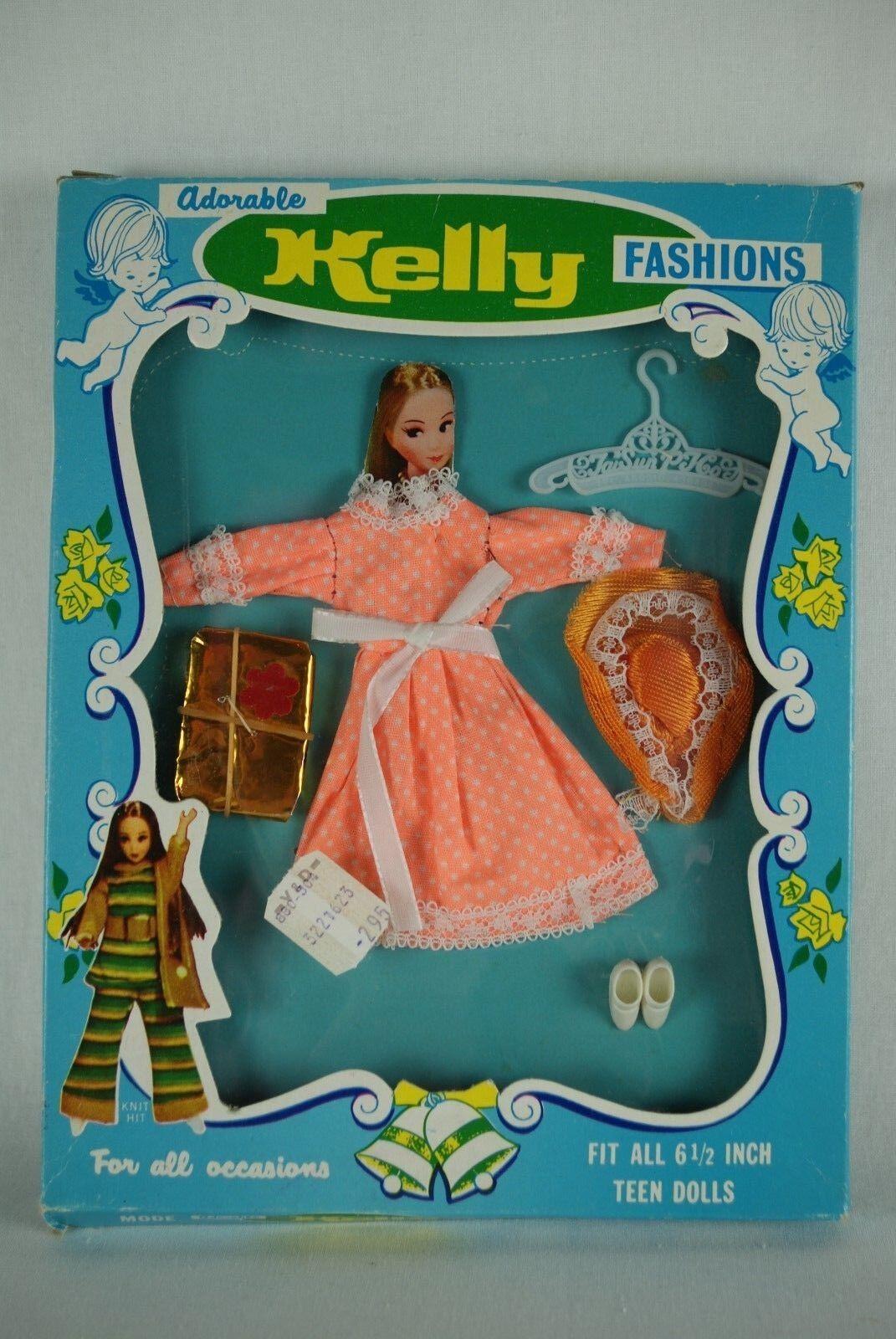 Regal Toy Limited Kelly Fashions doll Pippa clone Dawn Triki Miki MIB 60's