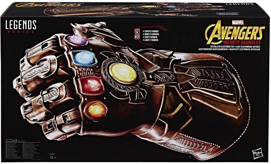 Avengers Infinity War Marvel leggende REPLICA THANOS INFINITY GAUNTLET Hasbro