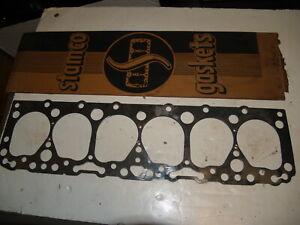 NOS Victor Head Gasket Set-Chevrolet 1937-1952 6 Cyl 216 eng HS-1050-K