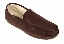 2fd5742d1cd item 1 MENS FLEECE FUR LINED MOCCASIN SLIPPERS FAUX LEATHER WINTER LOAFERS  SHOES SIZE -MENS FLEECE FUR LINED MOCCASIN SLIPPERS FAUX LEATHER WINTER  LOAFERS ...