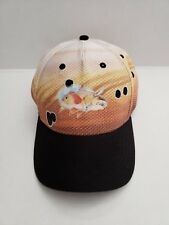7c5c77bbabb Guy Harvey one size fits all trout fishing baseball hat cap spotted black  brown