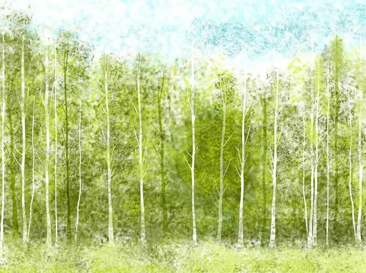 3D Fresh Grün woods 199WallPaper Murals Wall Print Decal Wall Deco AJ WALLPAPER
