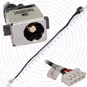 TOSHIBA EQUIUM L350D-11D DC Jack Wire Power Socket Port Cable Connector