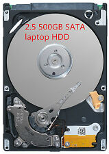 Festplatte 500GB SATA 2,5 Zoll Notebook Laptop Harddisk HDD HP FSC DELL IBM ASUS