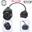 OBD BMW Round 20Pin zu OBD2 16Pin Adapter für Creator C310 C110 C501 C50X