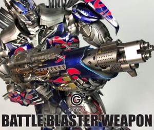 Transformers Movies 5 Comicave 1 22 Optimus Prime OP Gun Accessories