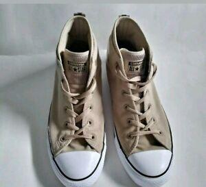 Details about Converse Chuck Taylor All Star Size 10 Syde Street Mid Vintage KhakiMalt
