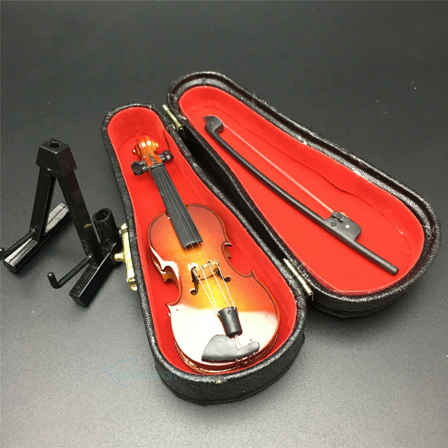 1//6 Musical Instrument 10CM Violin Model For 12/'/' Action figure Toys Accessories