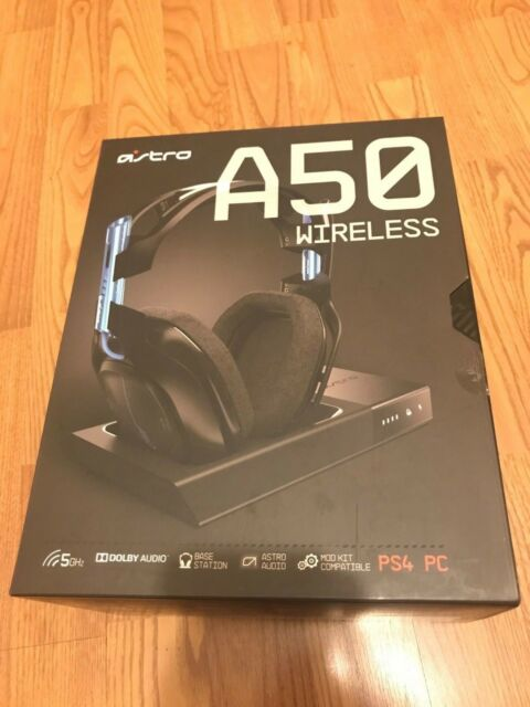 ac3164bdaa9 Astro Gaming A50 Wireless Headset + Base Station for PlayStation 4   PC -  Black