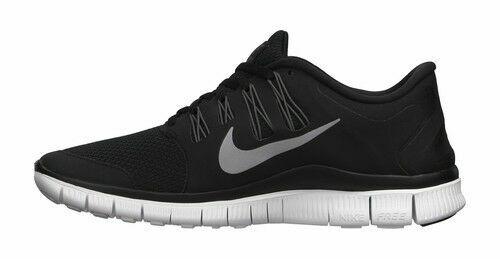 En la actualidad Evacuación Azotado por el viento  Nike Free 5.0+ Women's Running Shoes, Size 7 - Black/Metallic Silver/Dark  Grey/White for sale online | eBay