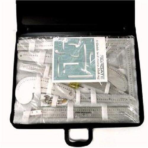 Fairgate 15-200 Fashion Designer/'s Metric Carryall Ruler Kit