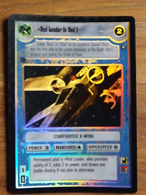 Star Wars CCG Reflections I Foil Card Red 2