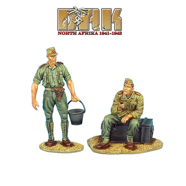 DAK020 DAK Artillery Crew at Rest Set 2 by First Legion