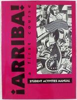 Arriba: First Course In Spanish By Eduardo Zayas-bazán Student Edition