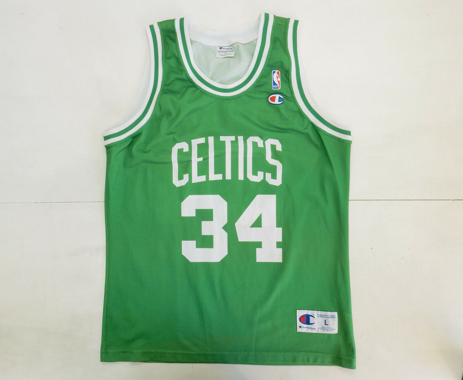 BOSTON CELTICS PIERCE CHAMPION VINTAGE CANOTTA BASKET NBA JERSEY SHIRT