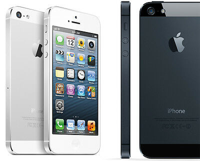 Factory Unlocked Apple iPhone 5 32GB iOS Smartphone 4G GSM Retina White / Black