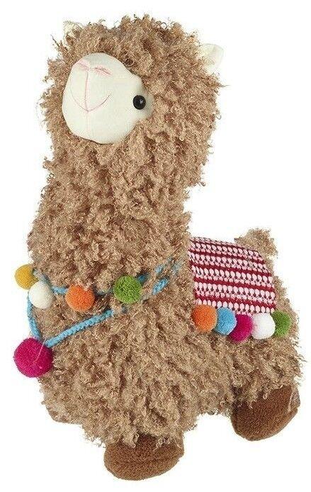 LLama Plush Alpaca Large Medium Teddy tall.By Heaven Sends Toy They are Fabulous